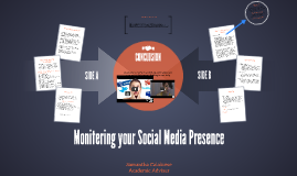 Montering your Social Media Presence