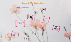 (Poetry In the Market Place)
