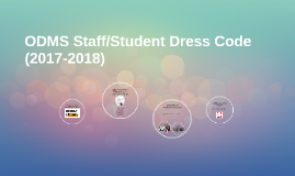 ODMS Staff Dress Code (2015-2016)