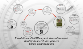 Revolutions, Civil Wars, and Wars of National Identity