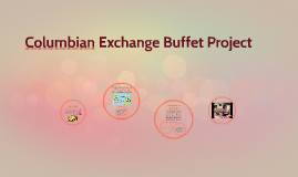 Columbian Exhange Buffet Project