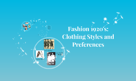 Fashion: Clothing styles and preferences