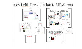 Alex Leith Presentation to UTAS 2016