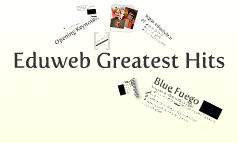 Eduweb Greatest Hits