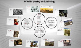 WWI in poetry and painting