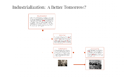 Industrialization:  A Better Tomorrow?