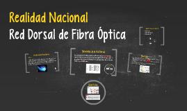 Realidad Nacional - Red Dorsal de Fibra Óptica - FIEE UNMSM