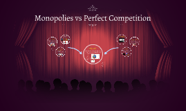 Monopolies vs Perfect Competition
