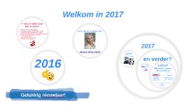 Nieuwjaarstoespraak 2017