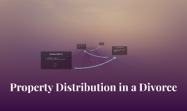 Property Distribution in a Divorce
