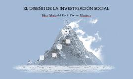 EL DISEÑO DE LA INVESTIGACIÓN SOCIAL