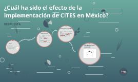 CITES en México
