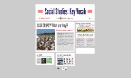 Copy of Social Studies: Key Vocab
