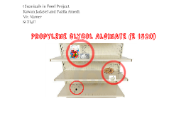 Propylene Glycol Alginate (E 1520)