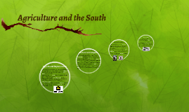 Agriculture and the South