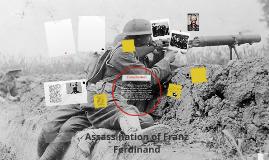 Copy of Assassination of Franz Ferdinand