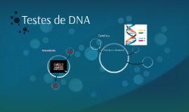 Testes de DNA