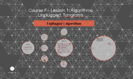 Course F- L1 Algorithms Unplugged: Tangrams