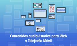 Contenidos audiovisuales para Web