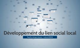 Développement du lien social local