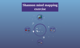 Shannon mind mapping exercise