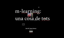 m-learning, una cosa de tots