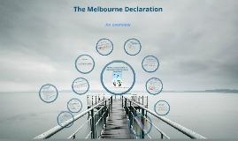 Melbourne Declaration