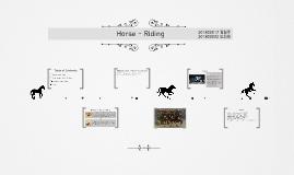Horse - Riding