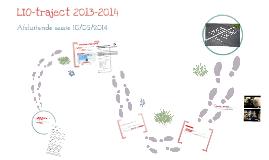Afsluitende sessie LIO-traject 2013-2014