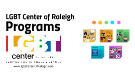 LGBT Center of Raleigh Programs