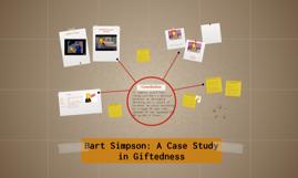 Bart Simpson: A Case Study