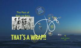 The Pact of Biak-na-Bato