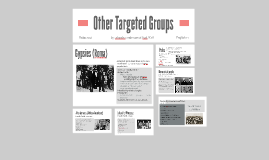 Other Targeted Groups
