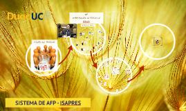 Copy of Copy of SISTEMA DE AFP - ISAPRES