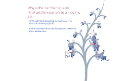 KS3 1st Pillar-Why is the belief in one God so important?