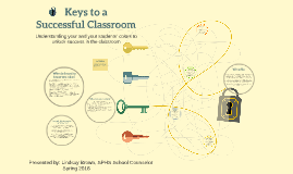 Keys to a successful classroom
