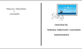 tribunal tributario y aduanero