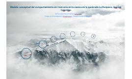Modelo conceptual del comportamiento del mercurio en la cuenca de la quebrada La Porquera, Bogotá. Colombia
