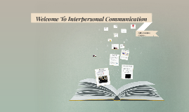 Welcome To Interpersonal Communication