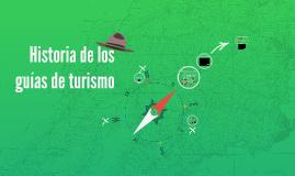 Historia de los guías de turismo