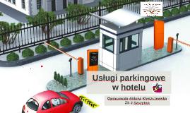 Systemy parkingowe  w hotelu