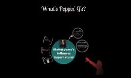 Shakespeare Influence's