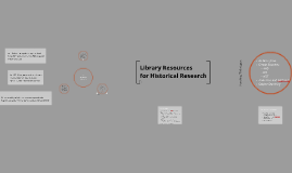 Library Resources for Historical Research