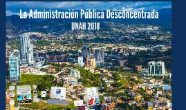 La administración Pública Descentralizada