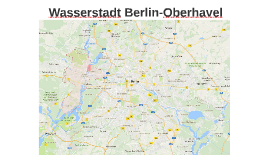 Wasserstadt Berlin Oberhavel