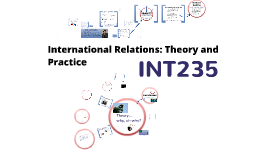Topic 1 - INT235 - What is IR Theory?
