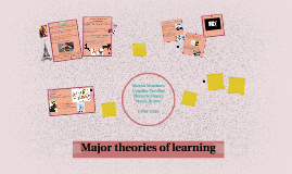 Major theories of learning