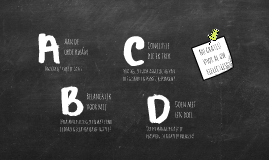 ABCD-reflectie: voor al uw intervisie-bijeenkomsten!