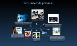 TIC en la vida cotidiana