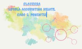 CLAUSURA: